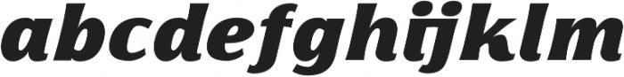 Florentia Fat Italic otf (800) Font LOWERCASE