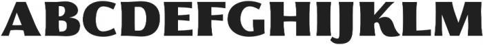 Florentia Fat otf (800) Font UPPERCASE