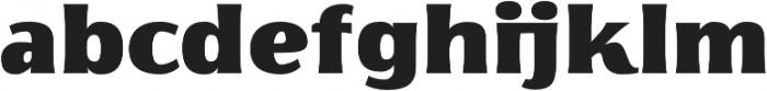 Florentia Fat otf (800) Font LOWERCASE
