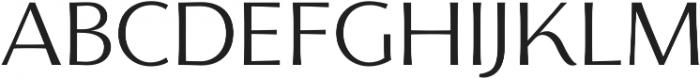 Florentia Light otf (300) Font UPPERCASE