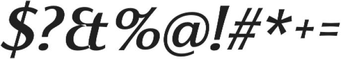 Florentia Medium Italic otf (500) Font OTHER CHARS