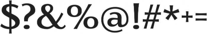 Florentia Medium otf (500) Font OTHER CHARS