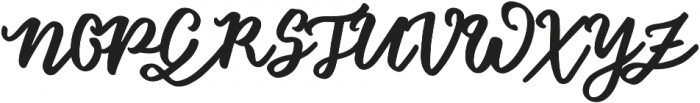 Floret Slant otf (400) Font UPPERCASE