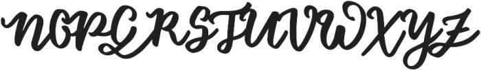Floret otf (400) Font UPPERCASE