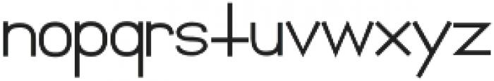 Florida Girl Sans Bold Bold otf (700) Font LOWERCASE