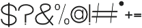 Florida Girl Sans Medium Medium otf (500) Font OTHER CHARS