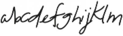 Florida Girl Script otf (400) Font LOWERCASE