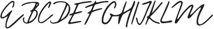Florisa_script otf (400) Font UPPERCASE