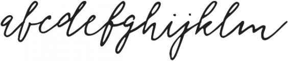 Florisa_script otf (400) Font LOWERCASE