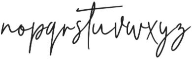 Florita Regular ttf (400) Font LOWERCASE
