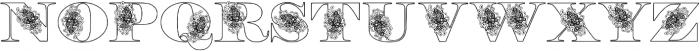 Floryan otf (400) Font UPPERCASE