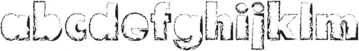 Flour Regular otf (400) Font LOWERCASE