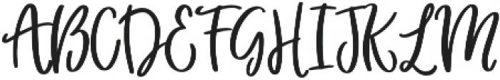 Flower Child otf (400) Font UPPERCASE