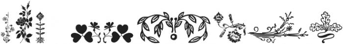 FlowerEssences Medium ttf (500) Font OTHER CHARS