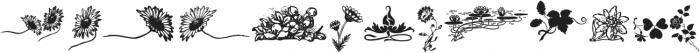 FlowerEssences Medium ttf (500) Font UPPERCASE
