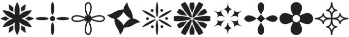Flowerdinki Symbols otf (400) Font OTHER CHARS