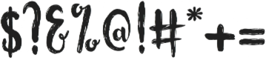 Flowerroom Script otf (400) Font OTHER CHARS