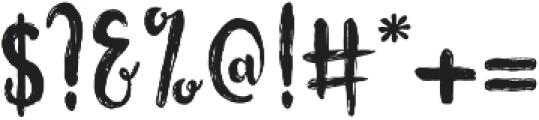 Flowerroom Script ttf (400) Font OTHER CHARS