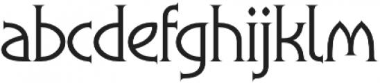 Flowers Thorn otf (400) Font LOWERCASE