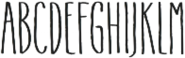 Flowy Condense Freehand otf (400) Font UPPERCASE