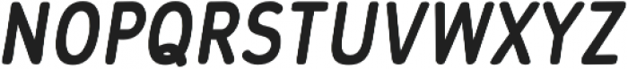 Flowy Sans Bold Clean Italic otf (700) Font UPPERCASE