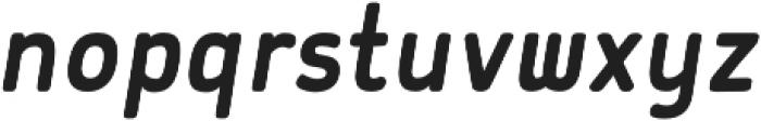 Flowy Sans Bold Clean Italic otf (700) Font LOWERCASE