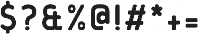 Flowy Sans Bold Clean otf (700) Font OTHER CHARS