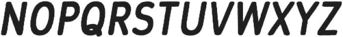 Flowy Sans Bold Freehand Italic otf (700) Font UPPERCASE