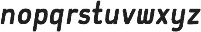 Flowy Sans Bold Freehand Italic otf (700) Font LOWERCASE