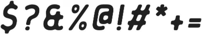 Flowy Sans Bold Ink Italic otf (700) Font OTHER CHARS