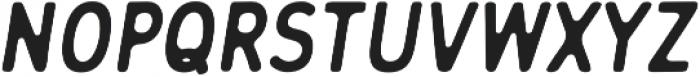 Flowy Sans Bold Ink Italic otf (700) Font UPPERCASE