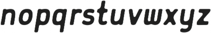 Flowy Sans Bold Ink Italic otf (700) Font LOWERCASE