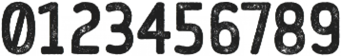 Flowy Sans Bold Rust otf (700) Font OTHER CHARS