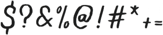 Flowy Script Freehand otf (400) Font OTHER CHARS