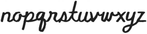 Flowy Script Freehand otf (400) Font LOWERCASE