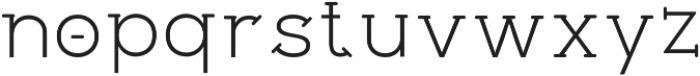 Flowz Regular otf (400) Font LOWERCASE