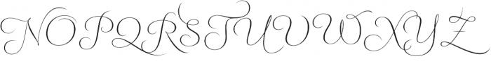Fluence One otf (400) Font UPPERCASE