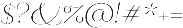 Fluence Two otf (400) Font OTHER CHARS