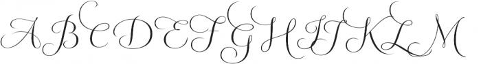 Fluence Two otf (400) Font UPPERCASE