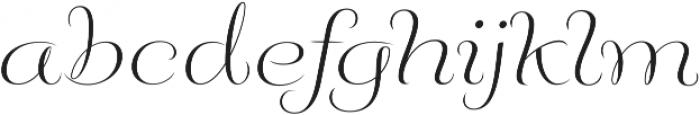 Fluence Two otf (400) Font LOWERCASE