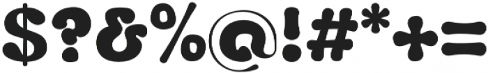 Fluid Black otf (900) Font OTHER CHARS
