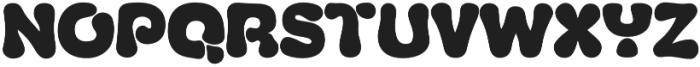 Fluid Black otf (900) Font UPPERCASE