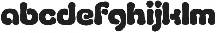 Fluid Black otf (900) Font LOWERCASE