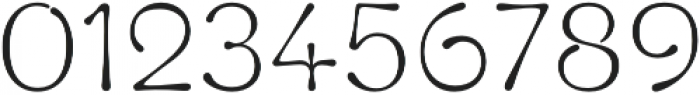 Fluid Light otf (300) Font OTHER CHARS