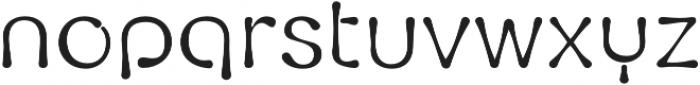 Fluid otf (400) Font LOWERCASE