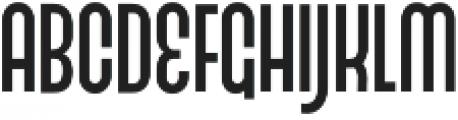 Fluire Caps Regular otf (400) Font UPPERCASE