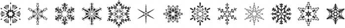 Flurry Regular otf (400) Font LOWERCASE