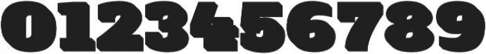 Flux Gradient otf (400) Font OTHER CHARS