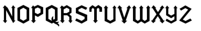 Fletcher Font UPPERCASE