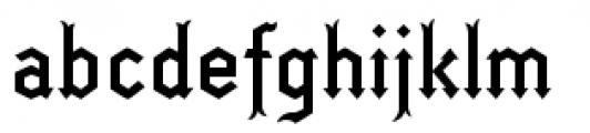 Fletcher Font LOWERCASE